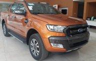 Bán Ford Ranger Wildtrak 2.0 năm 2018, màu cam, nhập khẩu nguyên chiếc, giá chỉ 925 triệu giá 925 triệu tại Hà Nội