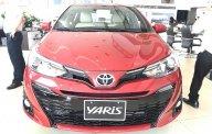 Cần bán Toyota Yaris 1.5G CVT đời 2018, màu đỏ, xe nhập khẩu giao xe sớm- 0986924166 hoặc 0907688855 giá 650 triệu tại Hà Nội