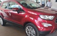 Cần bán Ford EcoSport EcoSport 2018 Titanium 1.0L sản xuất năm 2018, màu đỏ giá 689 triệu tại Tp.HCM