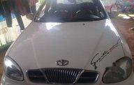 Cần bán gấp Daewoo Lanos đời 2001, màu trắng xe gia đình giá cạnh tranh giá 68 triệu tại Gia Lai
