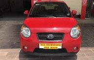 Bán ô tô Kia Morning SLX 1.0 MT sản xuất 2009, màu đỏ, xe nhập. Không bàn xe dịch vụ taxi giá 240 triệu tại Hà Nội
