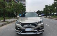 Bán Hyundai Santa Fe 2.4 đời 2018, màu vàng be, chính chủ giá 1 tỷ 80 tr tại Hà Nội