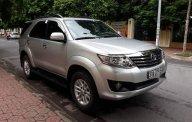 Cần bán lại xe Toyota Fortuner 2.7V sản xuất năm 2014, màu bạc chính chủ giá 740 triệu tại Hà Nội