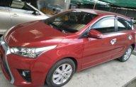 Bán Toyota Yaris sản xuất 2016, màu đỏ chính chủ giá 595 triệu tại Tp.HCM