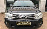 Cần bán lại xe cũ  Toyota Fortuner 2.5G sản xuất 2010, màu đen, 618 triệu giá 618 triệu tại Hải Phòng