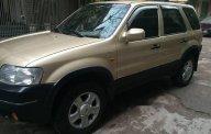 Bán xe Ford Escape XLT 3.0 đời 2004 màu vàng, xe lắp ráp trong nước, hộp số tự động, máy xăng, dẫn động 2 cầu giá 215 triệu tại Tp.HCM