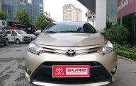 Bán Toyota Vios E đời 2016, màu vàng cát giá 502 triệu tại Hà Nội