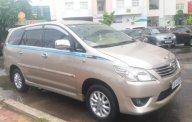 Cần bán Toyota Innova E đời 2012, màu vàng cát, số sàn giá 499 triệu tại BR-Vũng Tàu
