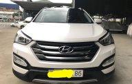 Bán ô tô Hyundai Santa Fe 2.4AT 4WD 7 chỗ đời 2015, màu trắng, giá 936tr giá 936 triệu tại Tp.HCM