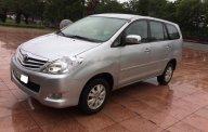 Cần bán gấp Toyota Innova 2.0G năm 2011, màu bạc   giá 445 triệu tại Hà Nội