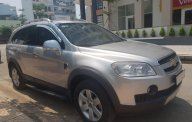 Bán ô tô Chevrolet Captiva (LT) đời 2008, màu ghi-bạc, gia đình sử dụng kỹ mới 95% giá 280 triệu tại Tp.HCM