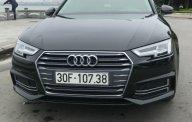 Bán Audi A4 2.0 AT đời 2016, màu đen  giá 1 tỷ 620 tr tại Hà Nội