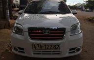 Bán xe Daewoo Gentra Sx đời 2009, màu trắng giá 185 triệu tại Đắk Lắk