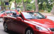 Cần bán xe Lexus IS 250 c đời 2009, màu đỏ, nhập khẩu giá 1 tỷ 330 tr tại Hà Nội