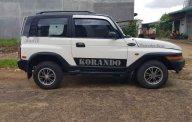 Cần bán Ssangyong Korando đời 2001, màu trắng giá 120 triệu tại Đắk Lắk