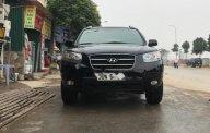 Bán xe Hyundai Santa Fe năm sản xuất 2007, màu đen, nhập khẩu giá 460 triệu tại Hà Nội