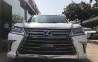 Bán Lexus LX570 màu trắng, nội thất nâu, full option, sản xuất 2016, đăng ký 2017. LH: 0906223838 giá 7 tỷ 290 tr tại Hà Nội