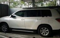 Bán Toyota Highlander SE đời 2011, màu trắng, nhập khẩu nguyên chiếc ít sử dụng giá 1 tỷ 250 tr tại Hà Nội