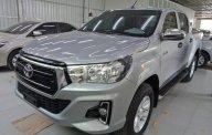 Bán Toyota Hilux 2.4E 4x2 AT sản xuất năm 2018, màu bạc, xe nhập giá 695 triệu tại Hà Nội