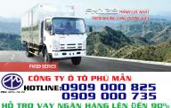 Bán xe tải Isuzu Vĩnh Phát 8T2 thùng dài 7m1 giá siêu rẻ giá 700 triệu tại Tp.HCM