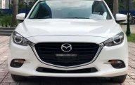 Bán Mazda 3 1.5AT FL 2017 sedan trắng giá 690 triệu tại Hà Nội