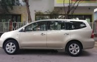 Bán ô tô Nissan Grand livina đời 2012, màu vàng cát, nhập khẩu nguyên chiếc còn mới giá 295 triệu tại Đà Nẵng