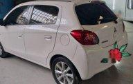 Cần bán gấp Mitsubishi Mirage AT 2015, màu trắng số tự động  giá 345 triệu tại Tp.HCM