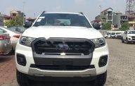 Bán Ford Ranger Wildtrak 2.0L 4x4 AT năm sản xuất 2018, màu trắng, nhập khẩu nguyên chiếc giá 918 triệu tại Hà Nội