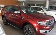 Cần bán Ford Everest Titanium 2.0L 4x4 AT 2018, màu đỏ, xe nhập giá 1 tỷ 399 tr tại Hà Nội