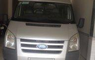 Cần bán xe Ford Transit 2010 máy dầu, số sàn, 16 chỗ ngồi, màu bạc, BSTP giá 337 triệu tại Tp.HCM