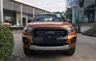 Bán Ford Ranger Wildtrak 2.0L AT đời 2018, màu cam giá 918 triệu tại Hà Nội