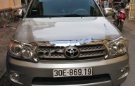 Cần bán xe cũ Toyota Fortuner 2.7V 4x4 AT đời 2009, màu bạc, giá tốt giá 480 triệu tại Hà Nội