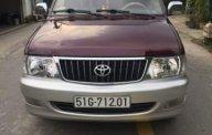 Cần bán gấp Toyota Zace GL đời 2004, màu đỏ giá 35 triệu tại Tp.HCM