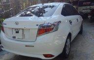 Cần bán gấp Toyota Vios E sản xuất 2018, màu trắng, xe gia đình   giá 550 triệu tại Quảng Nam