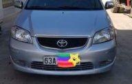 Cần bán gấp Toyota Vios sản xuất 2003, màu bạc số sàn, giá tốt giá 230 triệu tại Tiền Giang