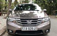 Bán Honda City 1.5 AT đời 2014, màu nâu, giá 455tr giá 455 triệu tại Tp.HCM