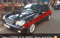 Chính chủ bán Mercedes C200 2002, màu đen giá 188 triệu tại Hà Nội