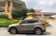 Bán xe Hyundai Santa Fe đời 2016 màu nâu full dầu giá 1 tỷ 99 tr tại Hà Nội