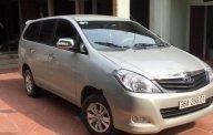 Bán Toyota Innova 2.0MT sản xuất 2008, màu bạc giá 260 triệu tại Thanh Hóa
