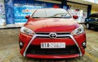 Nhà bán xe Toyota Yaris 1.5G 2 đời 2017, màu đỏ, nhập khẩu  giá 655 triệu tại Bình Dương