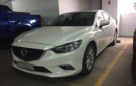 Cần bán xe Mazda 6 2.0 sản xuất năm 2015, màu trắng, giá tốt giá 725 triệu tại Tp.HCM