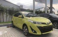 Bán Toyota Yaris 1.5G năm sản xuất 2018, màu vàng, nhập khẩu nguyên chiếc  giá 650 triệu tại Tiền Giang
