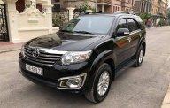Bán Toyota Fortuner đời 2013, màu đen giá 720 triệu tại Hà Nội