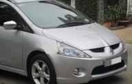 Cần bán Mitsubishi Grandis 2.4Mivec đời 2009, màu bạc giá 485 triệu tại Tp.HCM