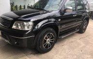 Cần bán lại xe Ford Escape đời 2005, màu đen   giá 239 triệu tại Đồng Nai