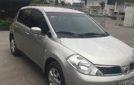 Bán xe Nissan Tiida 1.6 AT đời 2008, màu bạc, nhập khẩu Nhật Bản giá 280 triệu tại Hà Nội