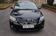 Cần bán lại xe Toyota Corolla altis MT sx 2009, màu đen giá cạnh tranh giá 410 triệu tại Hải Dương