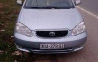 Cần bán xe Toyota Corolla Altis đời 2002, màu bạc giá 240 triệu tại Hà Nam