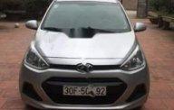 Bán ô tô Hyundai Grand i10 1.0 MT Base sản xuất 2015, màu bạc xe gia đình giá cạnh tranh giá 265 triệu tại Hà Nội