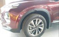 Bán xe Hyundai Santa Fe 2019, màu đỏ, xe nhập giá 1 tỷ 195 tr tại Tp.HCM